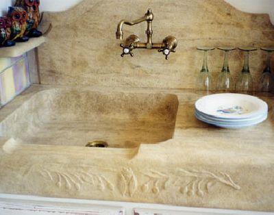 evier massif sculpte vaucluse avignon isle sur la sorgue. Black Bedroom Furniture Sets. Home Design Ideas